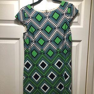 Eliza J Multi Color Dress